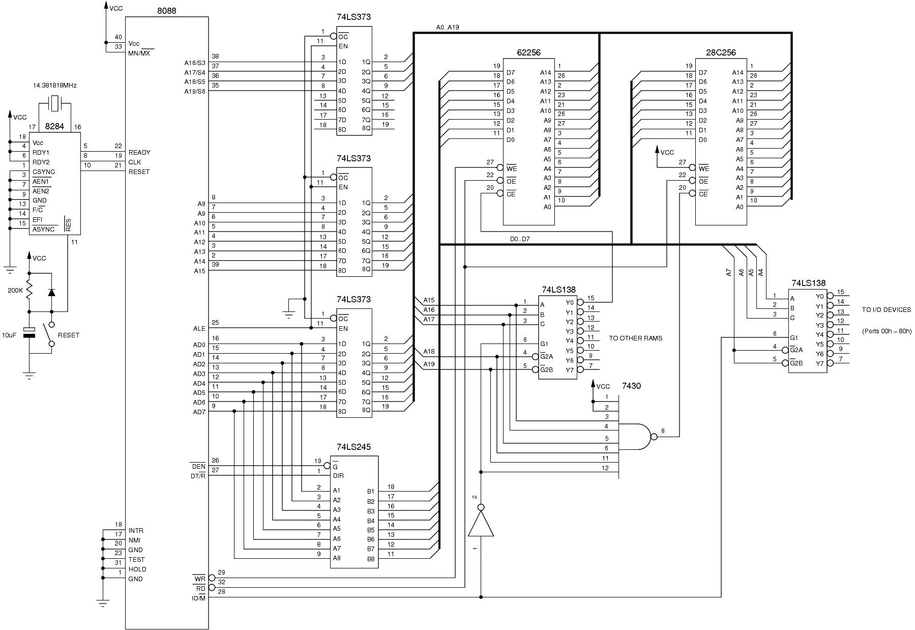 schematic 8088  u2013 readingrat net