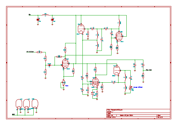 Tube VCO Vco Schematic on